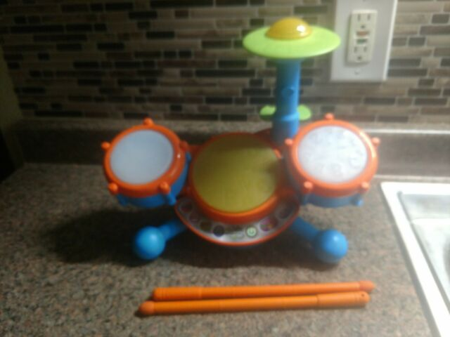 Educational Toy Kid Drum Set Music Electronic For Baby ...