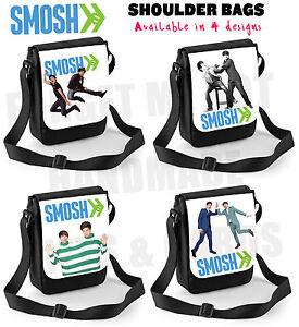 Smosh-Shoulder-Bag-Messenger-Bag-Gift-Present-youtuber-vlogger