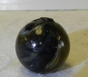 9427m-Bigger-74-Inches-Vintage-Single-Pontil-Transition-Transitional-Marble