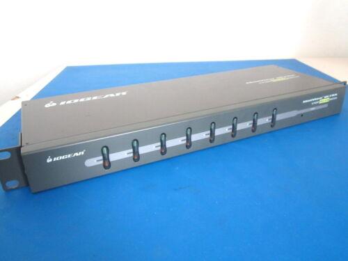 GCS138 8-PORT MiniView™ ULTRA  KVM SWITCH IOGEAR MODEL