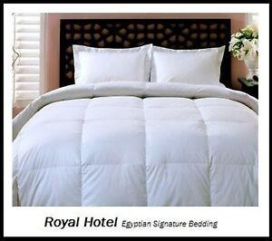 king size down comforter duvet insert bedding bed luxury goose down white warm ebay. Black Bedroom Furniture Sets. Home Design Ideas