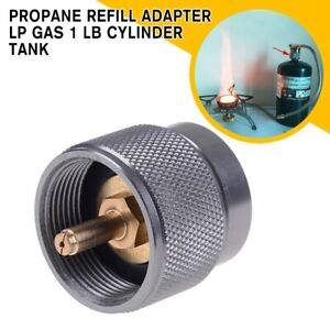 1-lb-Propane-Refill-Adapter-Lp-Gas-Cylinder-Tank-Coupler-Heater-camping-Hunt