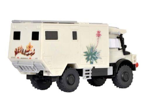 Spur H0 Bausatz Kibri 14977 UNIMOG Wohnmobil Unicat