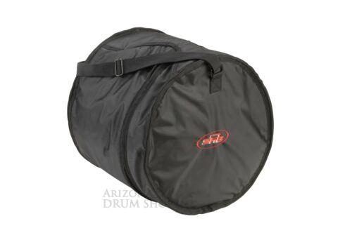 "Collapsable w//Soft Interior SKB  14 x 16/"" Tom// FloorTom Drum Gig Bag In Stock"