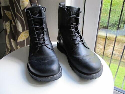Men's Birkenstock Cadarço Couro Preto Botas de pele de carneiro robusto UE 43 Reino Unido 9