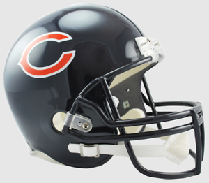 CHICAGO-BEARS-NFL-Riddell-FULL-SIZE-Deluxe-Replica-Football-Helmet