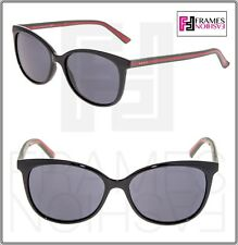 7d66de4173 GUCCI WEB 3650 Black Green Square RX Eyeglasses Optical Frame 53mm GG3650  Women