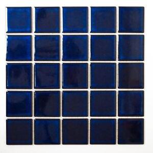 Mosaik-Fliese-Keramik-kobaltblau-glaenzend-Schwimmbad-14-0405-f-10-Matten