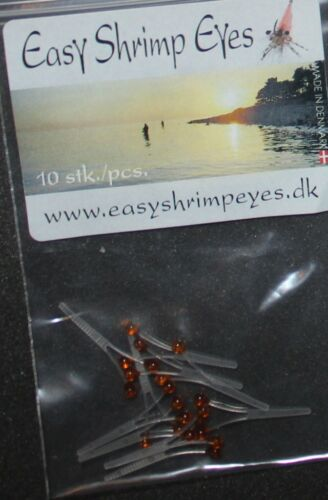 Fly Tying Shrimp Eyes 10 pr packs Easy and convenient.