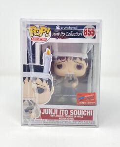 Funko-Pop-JUNJI-ITO-SOUICHI-855-NYCC-Official-Sticker-2020-Crunchyroll-Mint