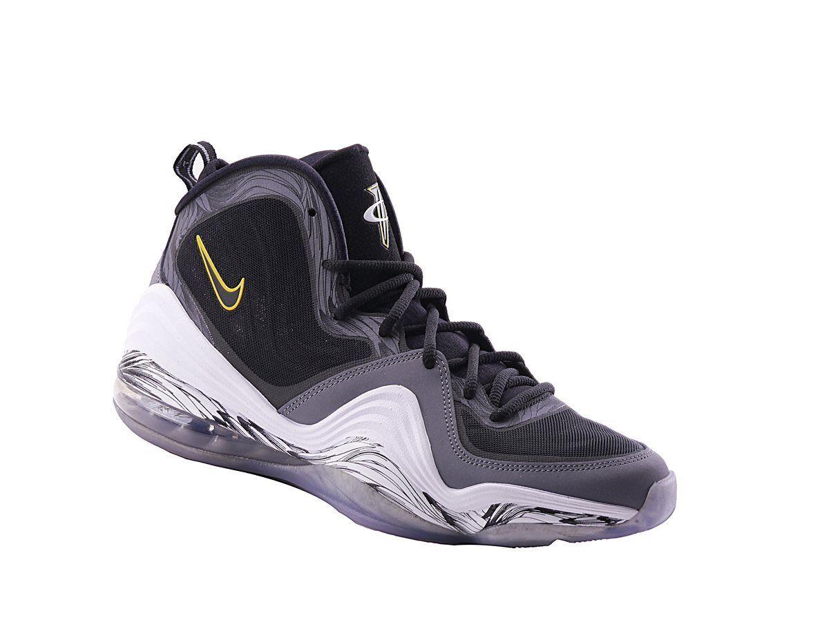 Nike Air Penny V Mens High Sneaker Schwarz Textil Gr.42,5 - 43 NEU
