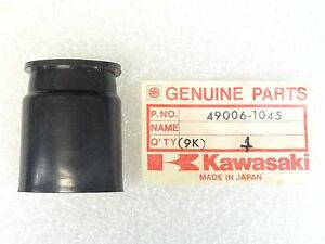 Kawasaki NOS NEW  49006-1045 Ball Joint Boot KX KDX KX420 KX250 KX125 1980-82
