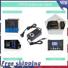 Ac To Dc 3 24v 2a Adjustable Volt Power Supply Motor Speed Controller Adapter