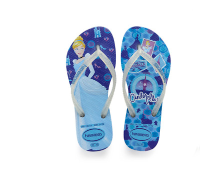 lower price with get new check out NWT Havaianas Disney Princess Cinderella Sandals Size 2 Girls Flip ...