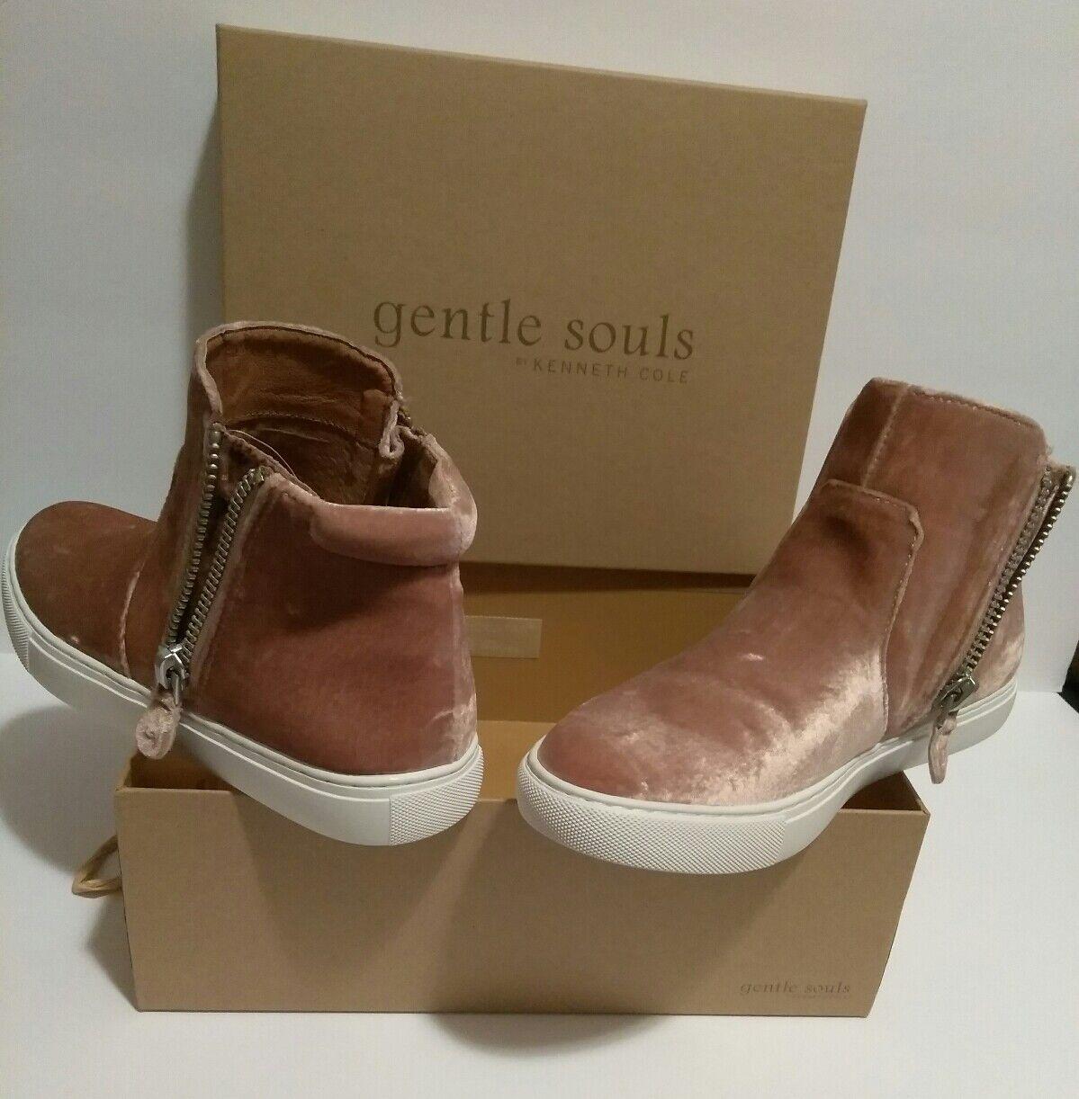 Carole Blush Pink Velvet Shoes Women