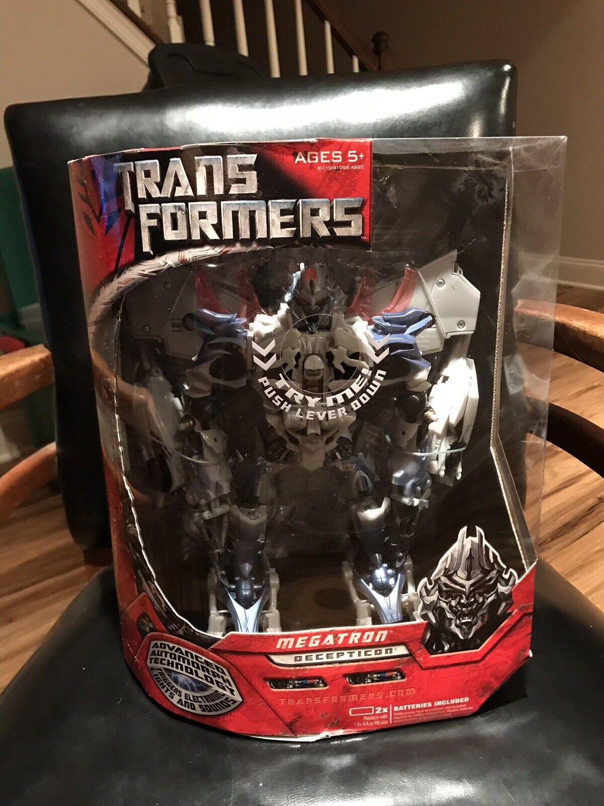 Megatron de los Transformers 2007 Film conditions   sellation