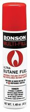 Ronson Multi-Fill Ultra Lighter Butane Fuel, 1.48 FL OZ (42 g ) Universal Tip
