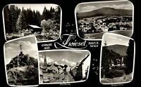 Zwiesel Bayerischer Wald Mehrbild AK ~1950/60 Stadtplatz Einsiedelei Falkenstein