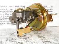Gm Delco 9 Power Brake Booster Master Cylinder Disc/drum Chevelle Camaro Nova