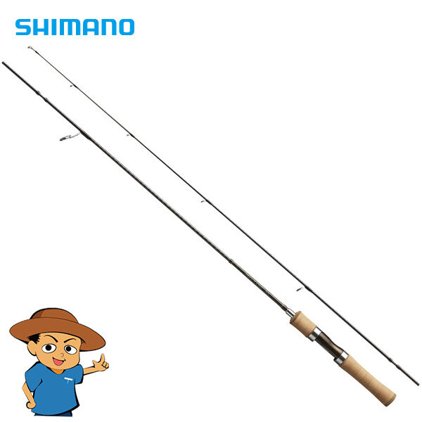 Shimano TROUT ONE NS S63L  Light 6'3  trout fishing spinning rod pole  online shopping sports