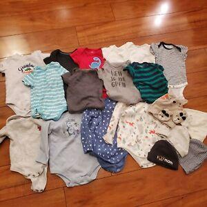 Baby Boy Clothes Lot 3 6 Months Ebay