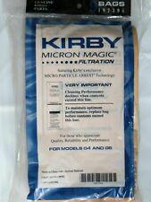 Kirby Vakuumbeutel 197301 G3 G6 HEPA-Vakuumfilterbeutel Genuine x 9