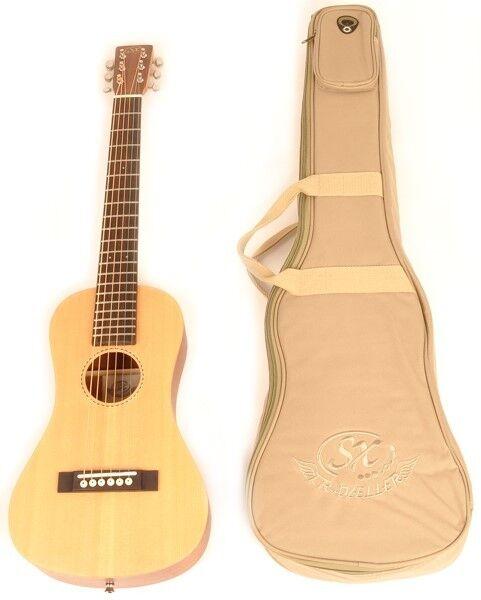 SX Trav 1 Traveling Guitar Portable Guitar