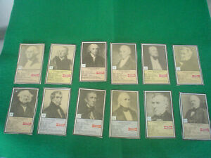 1992-LITTLE-DEBBIE-PRESIDENT-TRADING-CARDS-SET-of-38-WASHINGTON-REAGAN