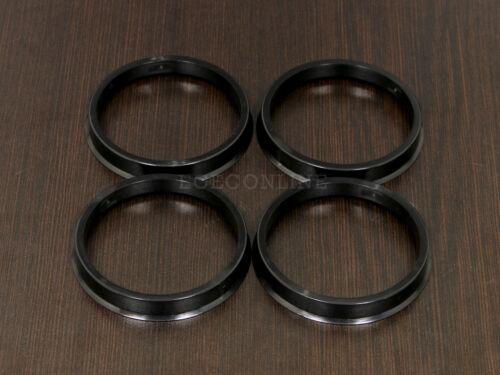4 67.1-72.56 72.6mm Plastic Hub Centric Rings 67.1mm