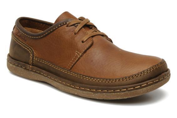 Neu Clarks Herren Rishton Mohr Schuhe Tabak Leder UK 8,8 .5, 9,9 .5, 10   | Outlet Online Store