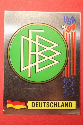 172 BADGE DEUTSCHLAND NEW BACK VERY GOOD! PANINI STICKERS USA 94 WORLD CUP N