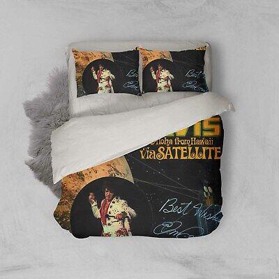 3D Elvis Presley Bedding Set Singer Music Duvet Cover Pillow Case Quilt Bed Sets
