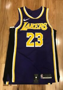 Details about Nike LeBron James Los Angeles Lakers Statement Edition Authentic Jersey Size 44