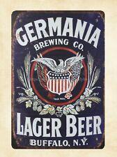"Kurth Lager Beer Vintage Rustic Retro Metal Sign 8/"" x 12/"" John H"