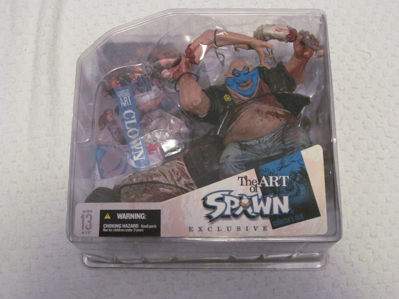 McFarlane The Art of Spawn Exclusive Clown Bloody Variant Collector's Club