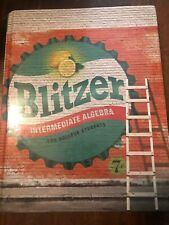 Intermediate Algebra for College Students by Robert F. Blitzer (2016, Hardcover)