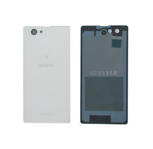 Genuine Sony D5503 Xperia Z1 Compact White Battery Cover - 1276-8465