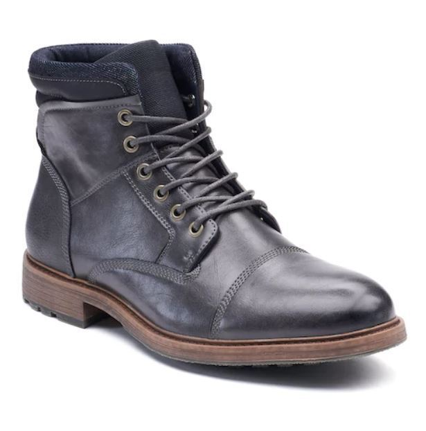 Nib Solde Homme Sonoma Goods For Life Arches Bottines Chaussures Med&wide Gris
