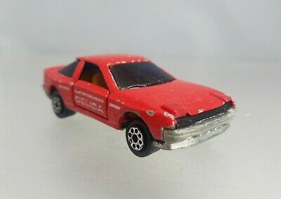 Majorette Japanese Car selection Toyota Celica GT Coupe TA22 set 1//56