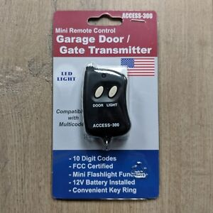 Image Is Loading Access 300 10 Digit Dip Switch Remote Garage