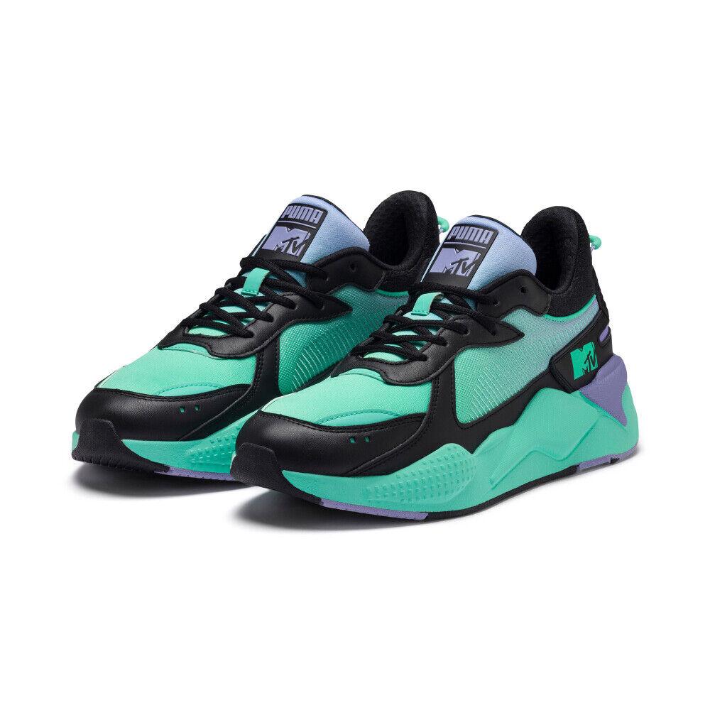 PUMA RS-X Tracks MTV Gradient Blaze shoes Sneakers - Black(370939-01 37093901)