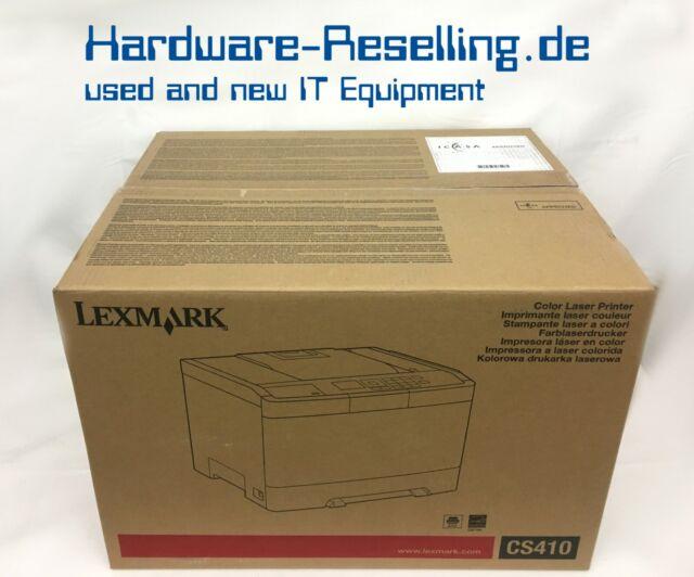 Lexmark CS410dn Imprimante Couleur Laser 28D0070 Réseau, Duplex Neuf en Ovp