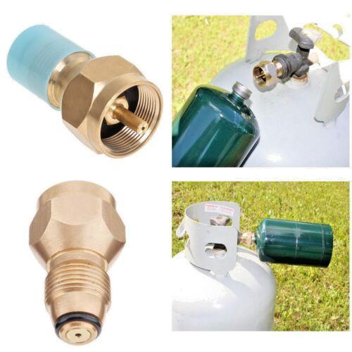 The Easy Fill Refill Small 1 Lb Propane Bottle Tanks Camping Fishing Adapter Kit