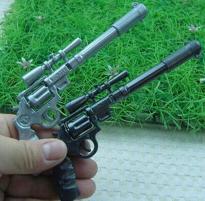 FD1381 Novelty Gun Twin Pens Toy Stationery School Children Kids Pens Gift 2PCs