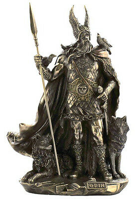 Odin Norse God Viking Statue Sculpture Figurine - SHIPS IMMEDIATELY