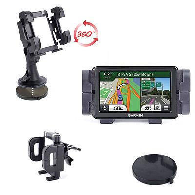 Support voiture rotatif pour GPS Garmin Nüvi 50, 2597LMT, 2595LMT, 3597, 2360