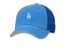 Los Angeles Dodgers Adult American Needle Raglan Bones Micro Logo Adjustable Hat