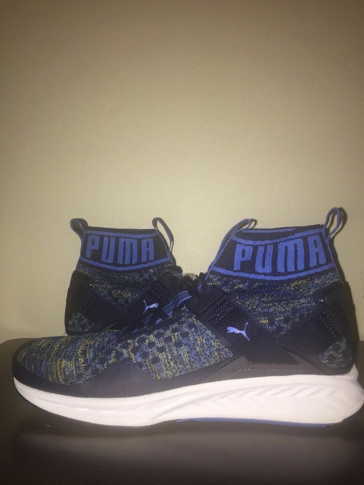PUMA Ignite evoKNIT Peacoat bluee. Brand New. Size 11.