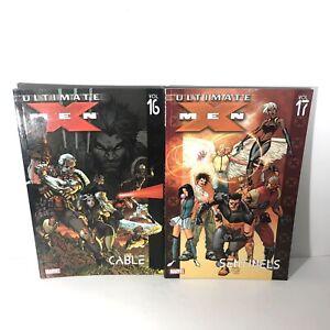 ULTIMATE-X-MEN-Lot-Of-2-TPB-16-And-17-Marvel-DC-Comics-Graphic-Novel