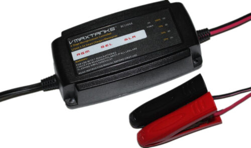 """VMAX BC1204 3.3Amp 4-Stage 12V /""""Smart/"""" Maintainer//Tender for Audi Battery"""